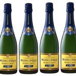 Heidsieck Monopole Blue Top Brut Champagner 1x 0,75 Liter für 15€ (statt 20€)