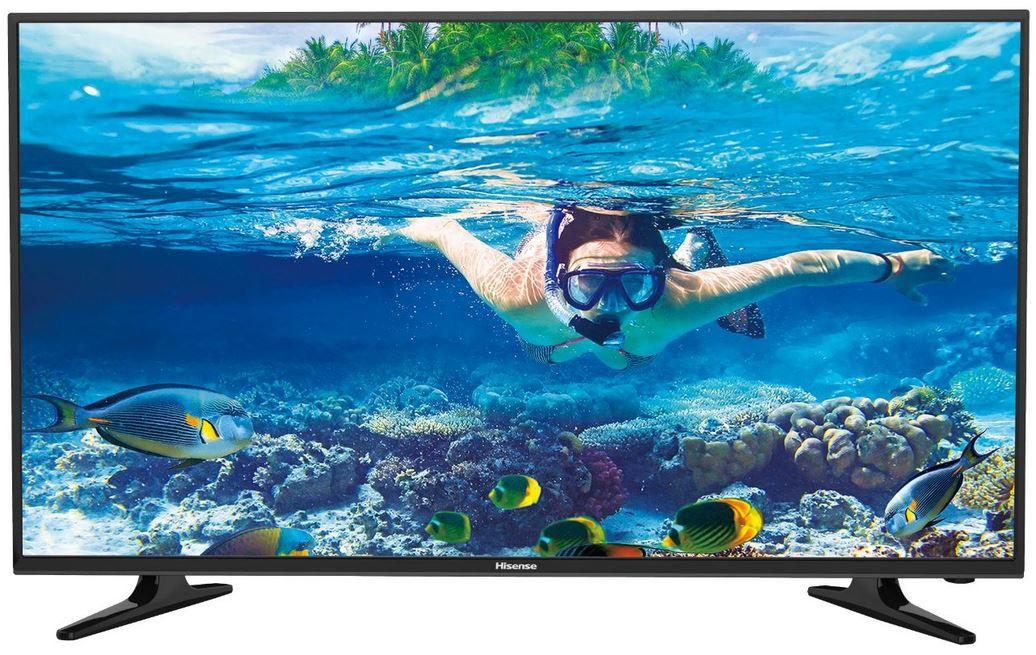 Hisense LTDN40D50 Hisense LTDN40D50TS   40 Zoll Full HD Fernseher mit Triple Tuner für 229,90€ (statt 278€)
