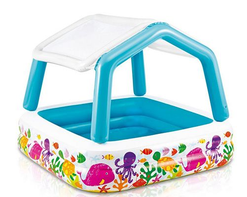 Intex 57470NP   Deluxe Pool Sun Shade mit Sonnenschutz ab 7,07€