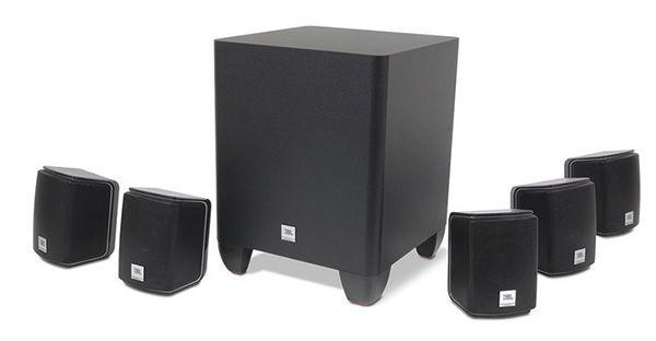 JBL Cinema 510   5.1 Lautsprechersystem für 99,99€