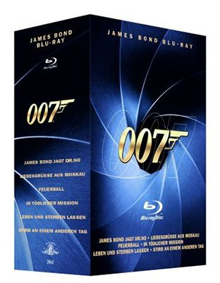 James Bond Blu ray Box für 14,99€
