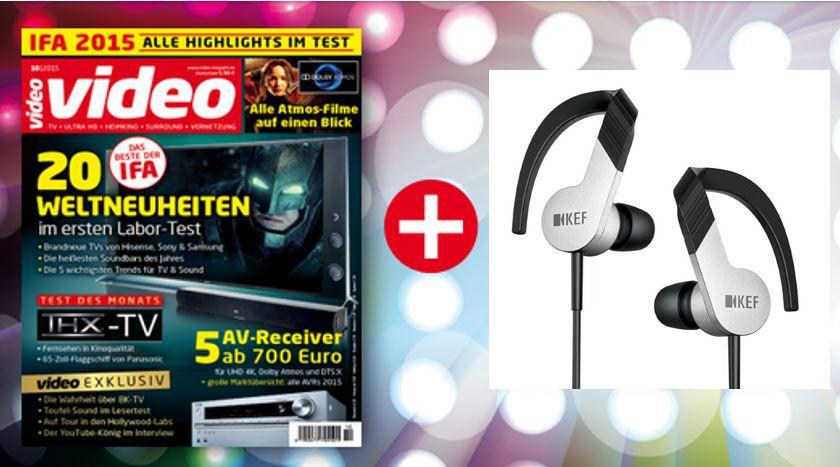 Video im Jahresabo für nur 63,90€ inkl. KEF M 200 Headset im Wert von 168€ *HOT*