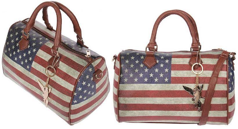 Kossberg Amaerika Kossberg 070 Amerika   Damen Handtasche 31 x 24 x 11 cm (BxHxT) statt 39,99€ ab nur 19,99€