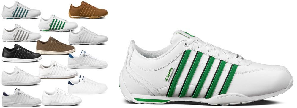 K Swiss Arvee 1.5 & Lozan III   Damen und Herren Sneaker in 13 Modellen für je Paar 44,90€