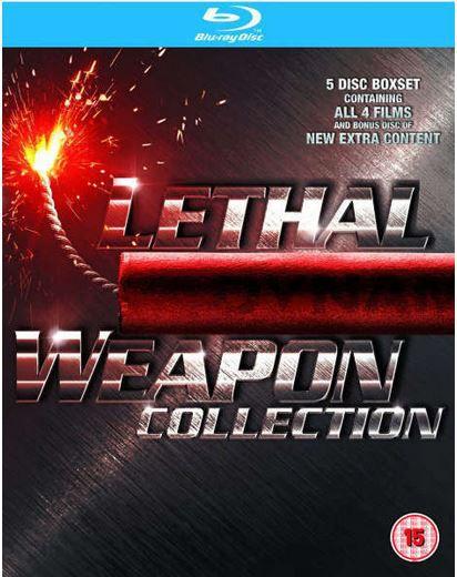 Lethal Weapon 1 4 (Blu ray) für 14,97€ (statt 18€)