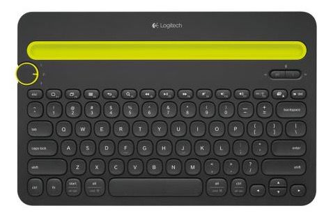 Logitech K480 Logitech K480 Multi Device Bluetooth Tastatur für 26,90€