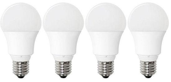 4er Set Müller Licht 10W E27 LED Leuchte Warm Weiß für 11,99€