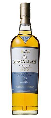 Macallan Fine Oak 12 Jahre Whisky (0,7 L, 40 Vol.) für 43,90€