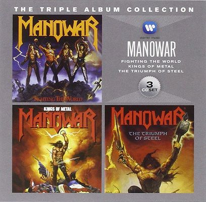 Manowar   The Triple Album Collection ab 6,66€