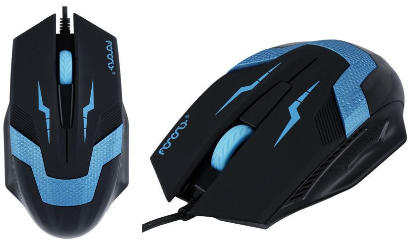 NoName Gaming Mouse mit 1.600dpi inkl. Versand für 1€!