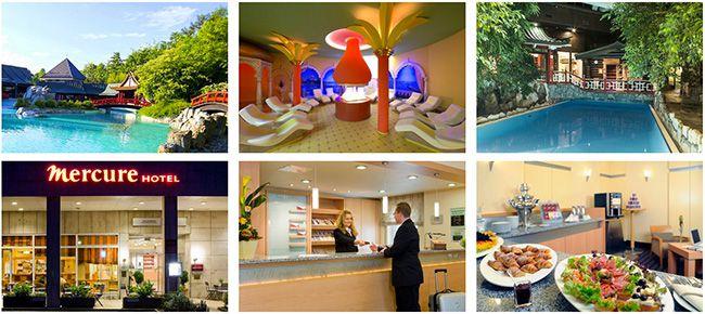 Mercure Hotel Bad Homburg Taunus Therme + Übernachtung im 4 Sterne Hotel mit Frühstück ab 59€ p.P.