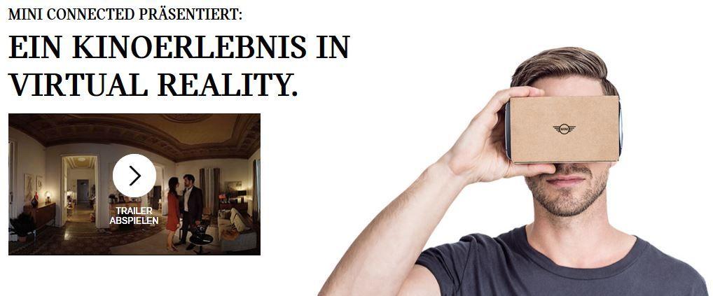 Cardboard kostenlos   Virtual Reality am Handy   Promo von Mini
