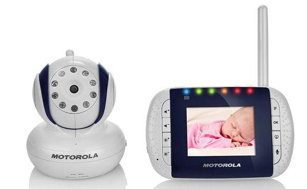 Motorola MBP33 Video Babyfon mit 2,8 Zoll Farbdisplay für 107,05€