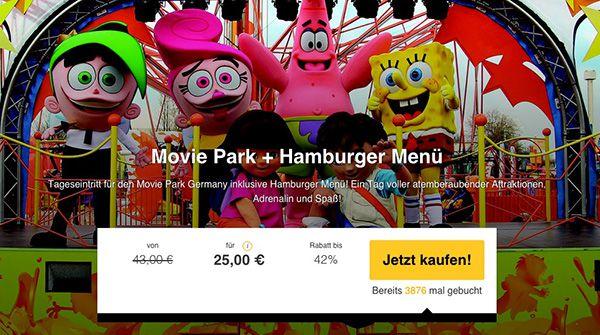 Movie Park Tageskarte