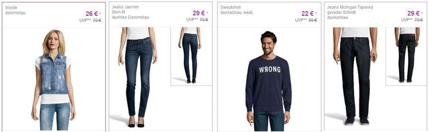 Mustang Jeans Sale Mustang   günstige Damen und Herren Fashion im Sale bei Vente Privee