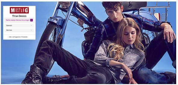Mustang Sale1 Mustang   günstige Damen und Herren Fashion im Sale bei Vente Privee