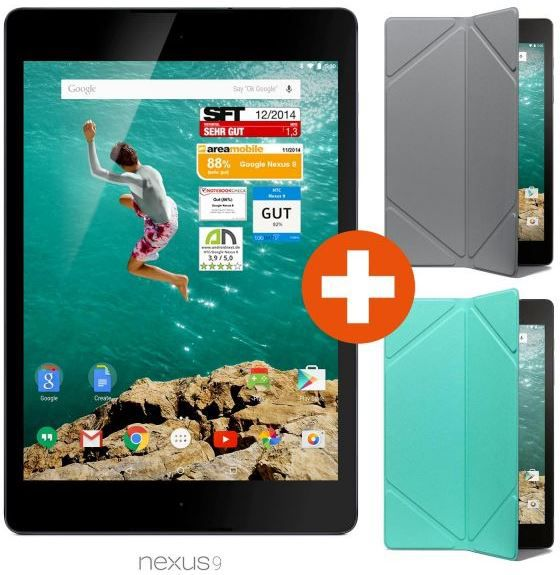 Google Nexus 9   LTE/WiFi 32GB Android 5.0 Tablet für 444€