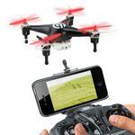 NINETEC Spyforce1 – Kameradrohne mit Live Übertragung auf das Smartphone für 44,44€