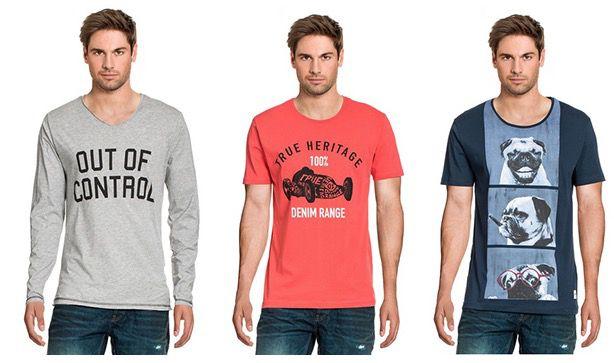 Only & Sons T Shirts für 6,90€ bei Brands4friends   nur für Neukunden