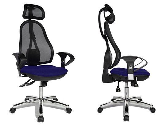 Topstar Open Point SY Deluxe Bürostuhl mit Kopfstütze für 160,59€ (statt 199€)