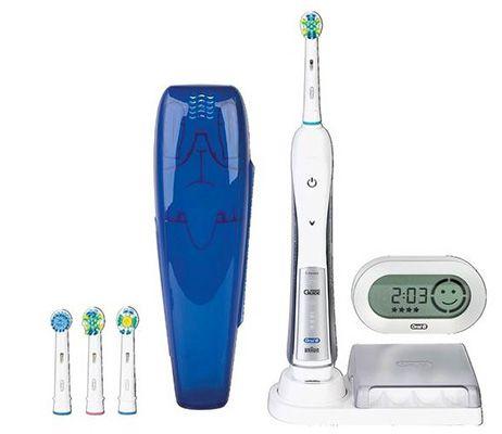 Oral B Triumph 5500   elektrische Zahnbürste mit SmartGuide für 89,90€
