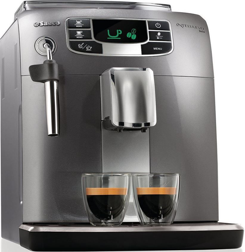 PHILIPS Saeco Intelia Evo Bella PHILIPS Saeco Intelia Evo Bella HD8770/01   Kaffeevollautomat für 179€