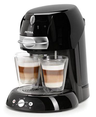 Petra Electric KM 42.17 Artenso latte Kaffeepadmaschine für 64,90€