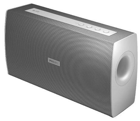 Philips BT4000W Bluetooth & NFC Lautsprecher für 34,99€
