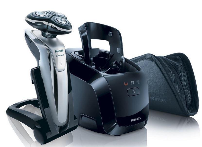 Philips RQ1260 PHILIPS RQ 1260 Senso Touch   Nass  und Trockenrasierer mit Reisetasche für 119,95€