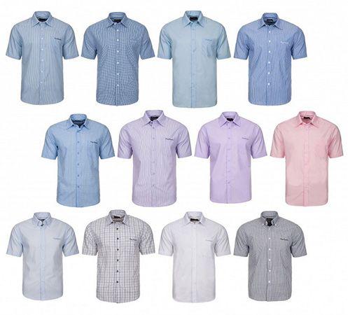 Pierre Cardin Kurzarm Pierre Cardin Kurzarm Herren Sommerhemden für je 3,99€ (statt 17€)
