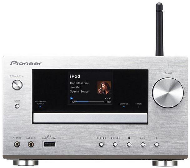 Pioneer XC HM81 S   Micro HiFi System mit WiFi, AirPlay, DLNA ... für 249€