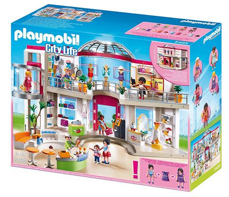 Playmobil City Life Shopping Center Playmobil City Life Shopping Center mit Einrichtung für 69,99€