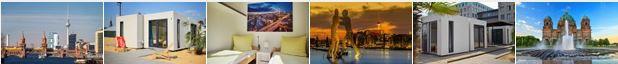 Hotelgutschein: CUBE Lodges Berlin Mitte   2 Personen, 2 Übernachtungen für nur 49€