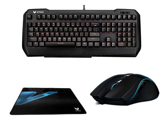 Rapoo VPRO Gaming Bundle Rapoo VPRO Gaming Bundle für 71,99€ (statt 97€)