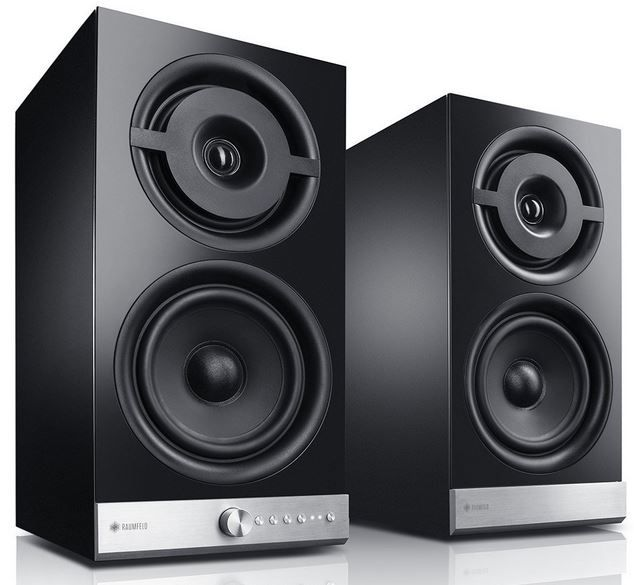 Raumfeld Stereo M Raumfeld Stereo M WLAN Regallautsprecher Paar (Streaming, Wireless, Spotify) statt 900€ für 599,99€
