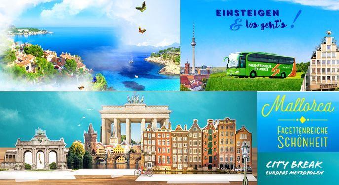 Reisen günstig Vente Privee Reiseangebote: z.B. 3 Tage Berlin mit Busanreise für nur 139€ p.P.