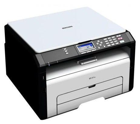 Ricoh SP 211SU Ricoh SP 211SU Laser Multifunktionsdrucker für 53,99€