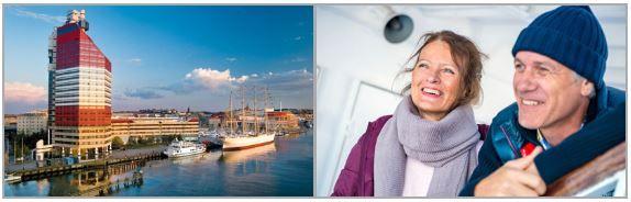 Schhweden Reise Fährkreuzfahrt: Kiel   Göteborg   Kiel für 2 Personen 3 Tage statt 246€ für nur 89€