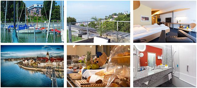 Seehotel Friedrichshafen Bodensee 3 6 Tage Bodensee im 4 Sterne Hotel mit vielen Extras ab 139€ p.P.