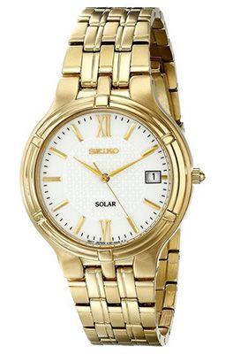 Seiko SNE030P1 Solar Herren Armbanduhr für 79€