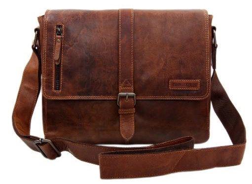 Slingbag Simon XL Messenger Leder Tasche für 79,95€