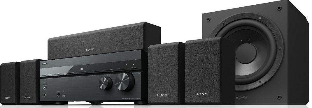 Sony HTDH550   5.2 AV Receiver mit Lautsprecherbundle statt 388€ für nur 333€