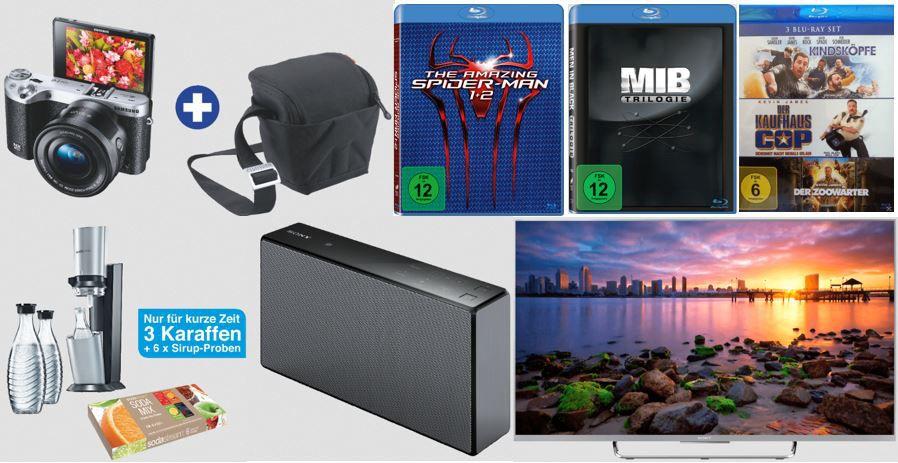 SAMSUNG NX500   Systemkamera 16 50 mm ab 495€ und mehr Saturn Super Sunday Angebote