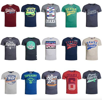 Superdry Herren Shirts