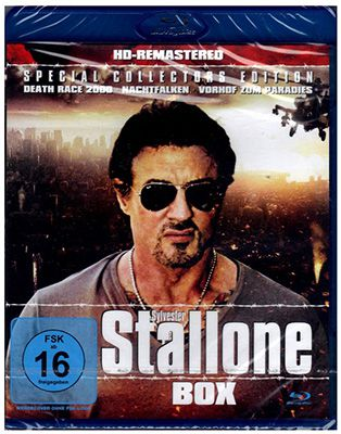 Sylvester Stallone Blu-ray Box