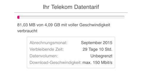 Mehr Datenvolumen und LTE Geschwindigkeit für Telekom Magenta Mobil Kunden