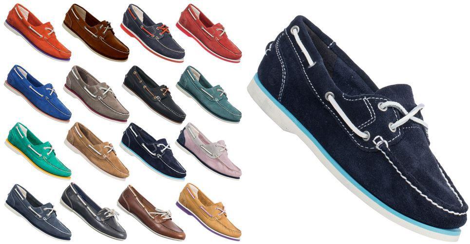 Timberland Damenschuhe Timberland Earthkeepers   kultige Leder Boots Schuhe für Damen je Paar 34,99€