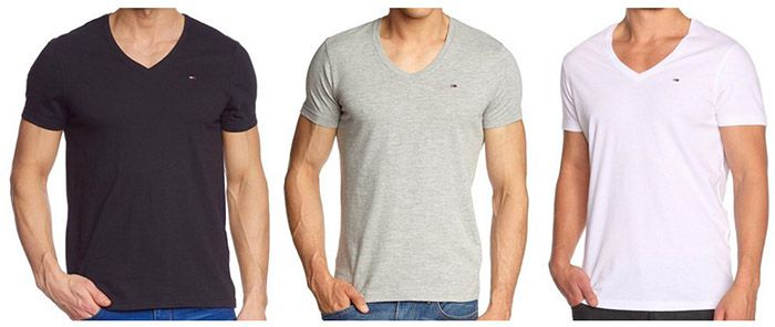 Tommy Hilfiger Denim Panson Slim Fit Herren T Shirt für 17,90€