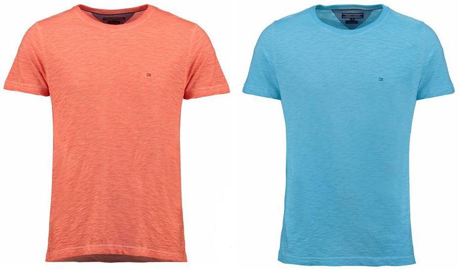 Tommy Hilfiger Denton - Herren T-Shirts in 2 Farben für je 23,90€ 14d4fbc9de