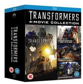 Transformers Quadrologie Box Teil 1 4 Blu ray für 15,80€